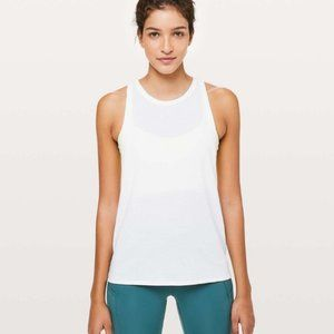 lululemon | White Course of Action Tank | 8
